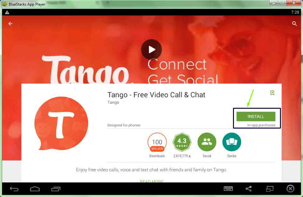 Tango for desktop/PC/Laptop