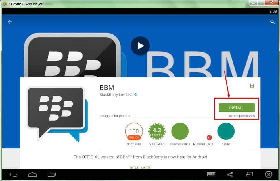 BBM for PC/windows