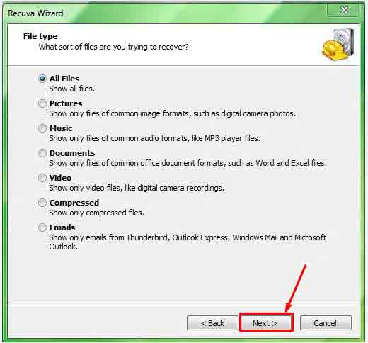 Top data recovery option