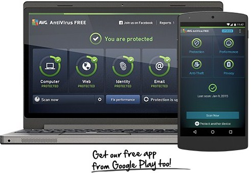 AVG free anti virus for windows 10 picture