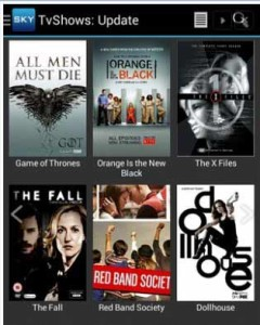SKY HD App for android online movies image