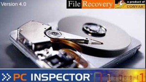 PC inspector best file recovery software