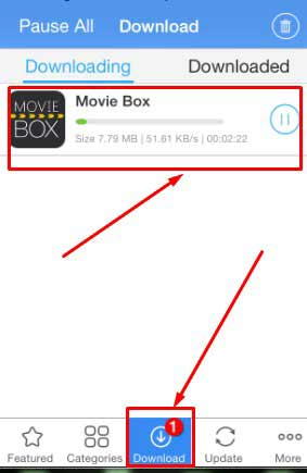 Moviebox for iOS 9 /9.1/9.2/8.4/8.3 iphone and ipad free download
