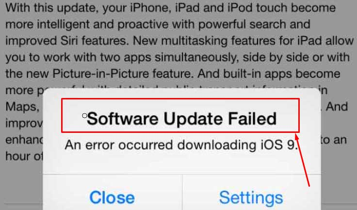ios-9-3-software-update-failed-error-problem-fix
