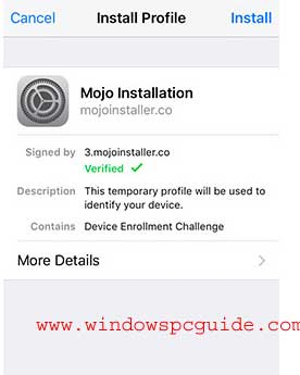 mojo-installer-without-jailbreak