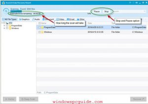 pause-stop-easeus-recovery-software