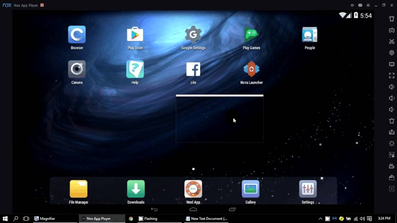 nox emulator latest Download