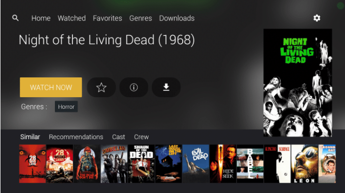 CucoTV App Installed on PC - Movies & TV Shows