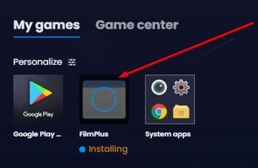 Install FilmPlus APK on Windows